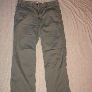 Mountain Khakis grey 35 x 32 pants.